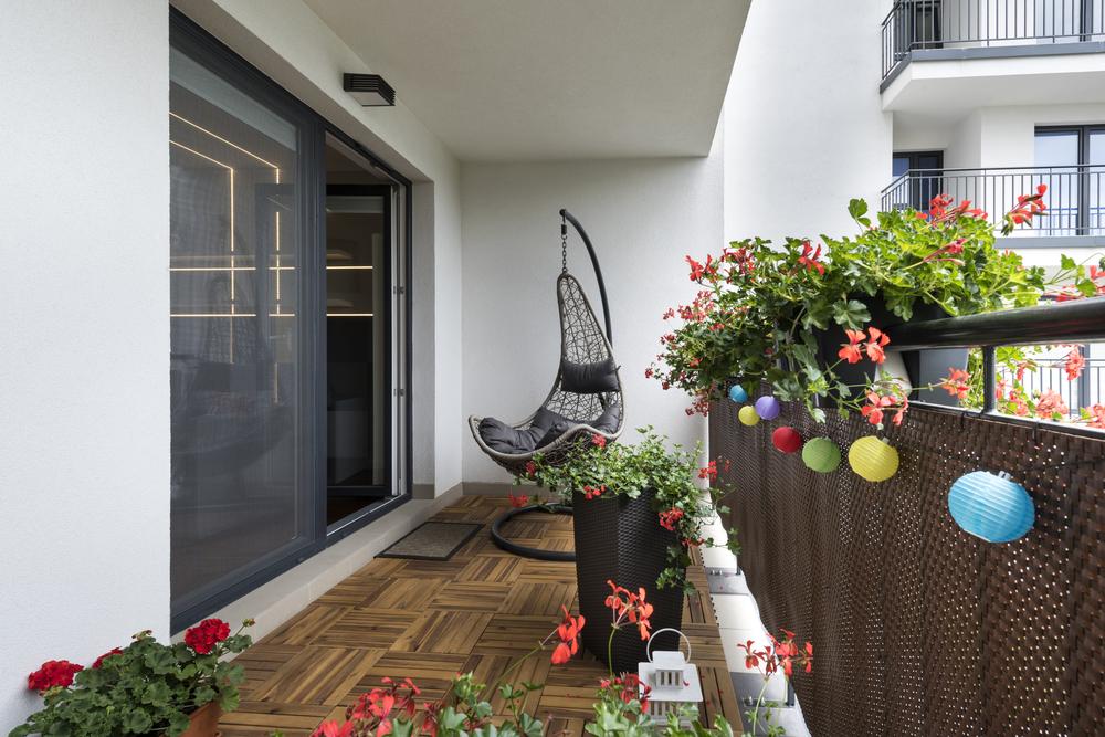 mobilierul pentru balcon
