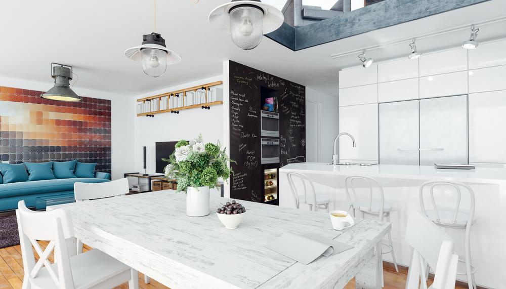 amenajarea unui open space cu bucatarie