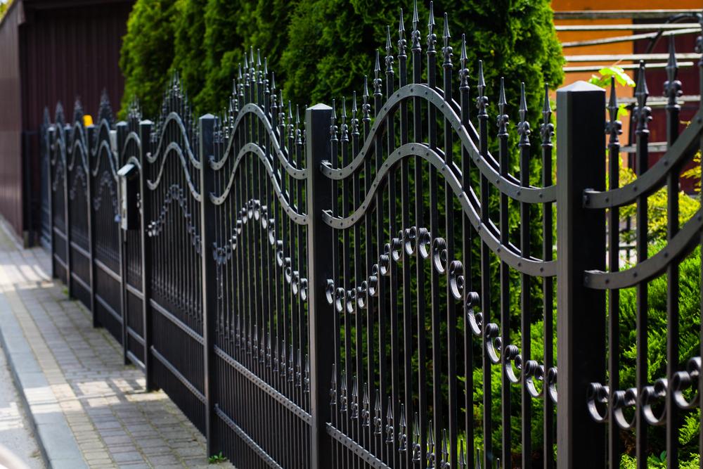 Garduri din metal