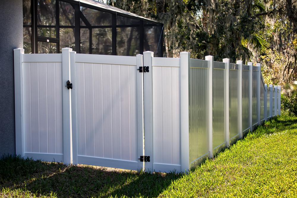 Garduri din PVC