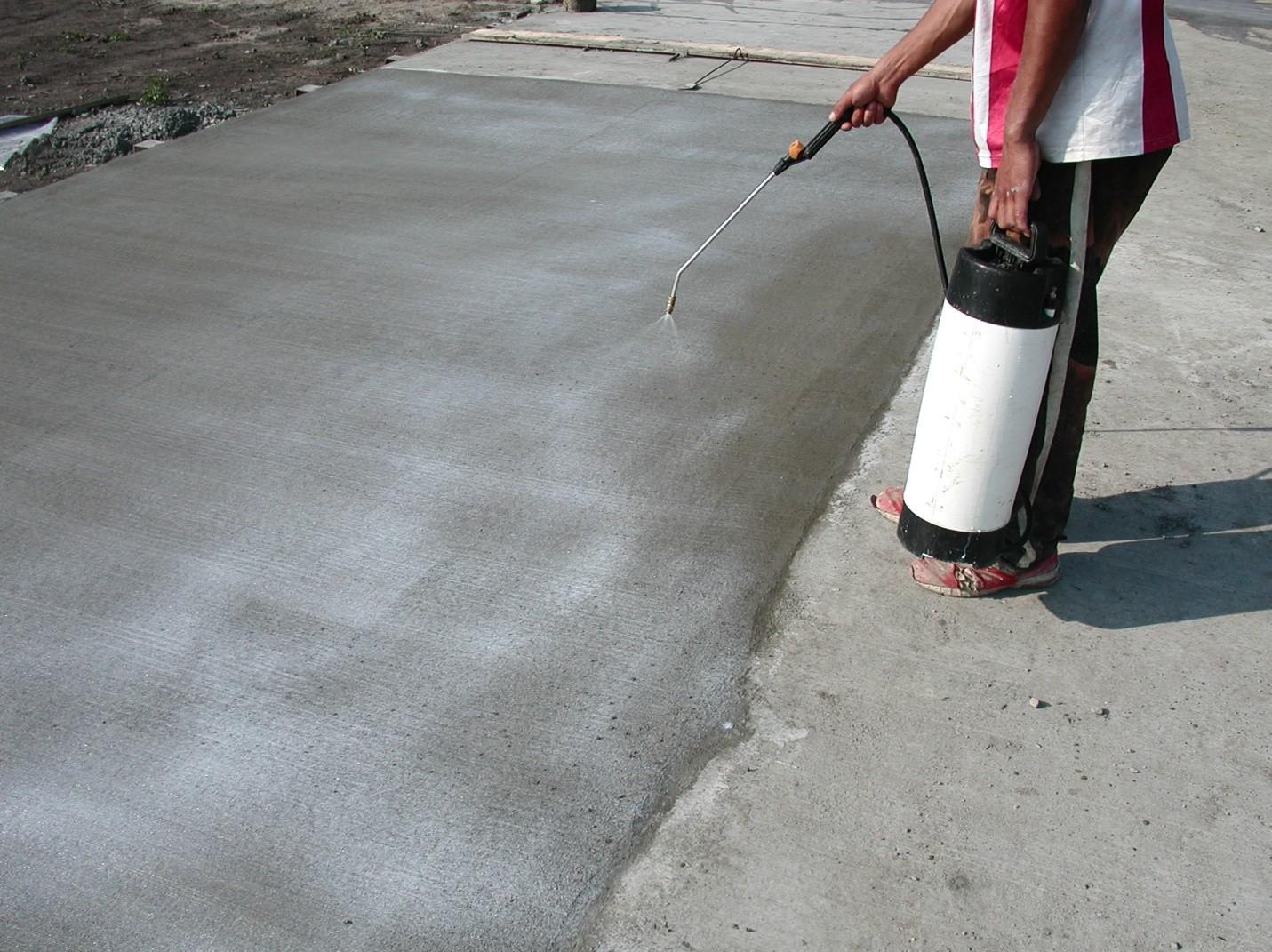 Vibrarea si uscarea betonului