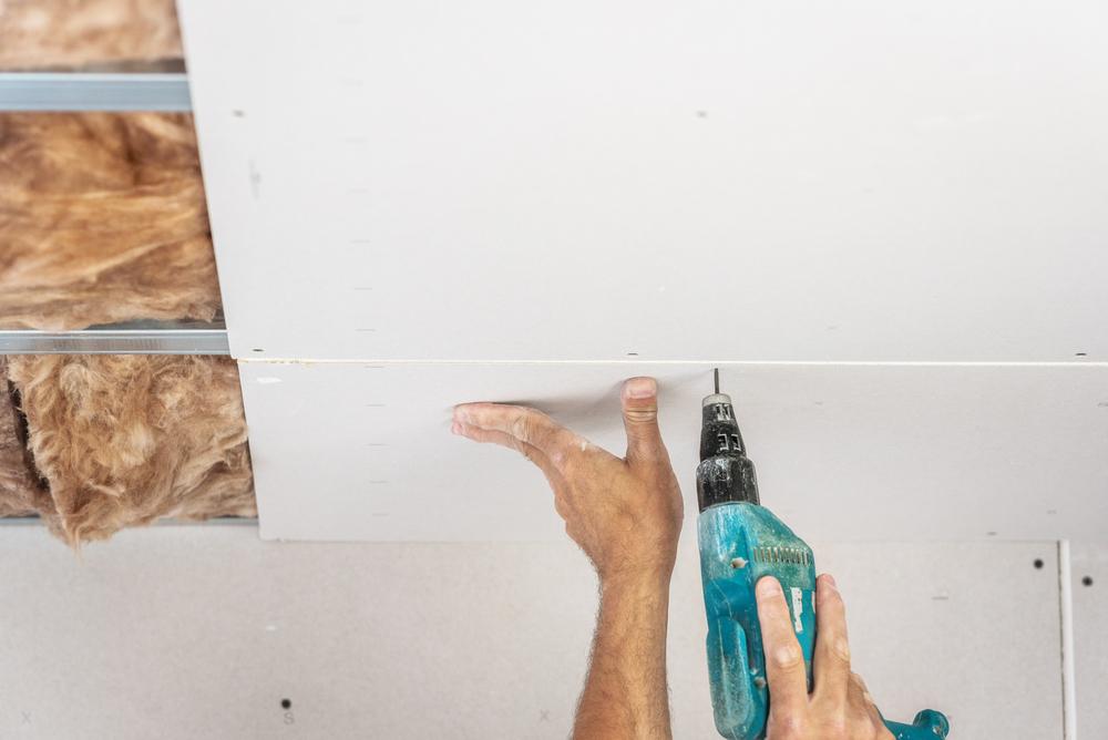 montarea tavanului fals