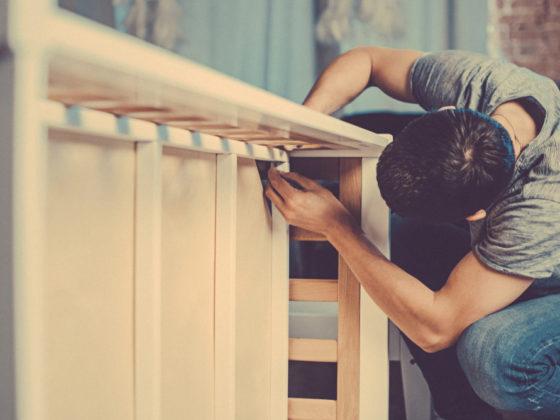Cum construiesti un pat din lemn