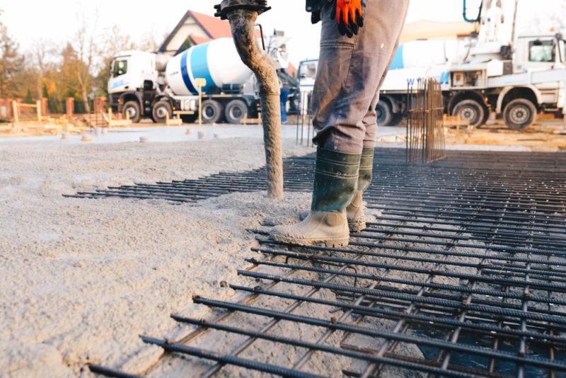 Cum se toarna placa de beton