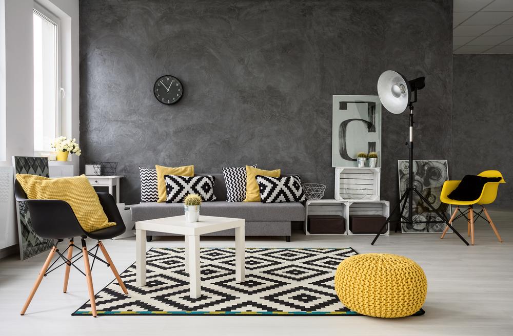 Cum sa-ti decorezi casa in alb si negru