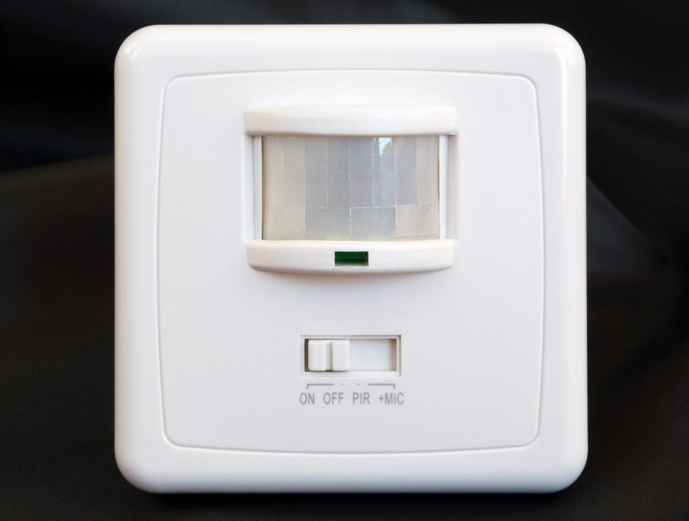 Senzor de lumina in hol