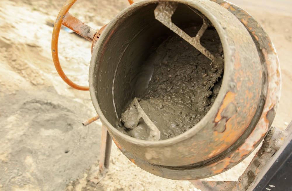 Beton preparat la betoniera