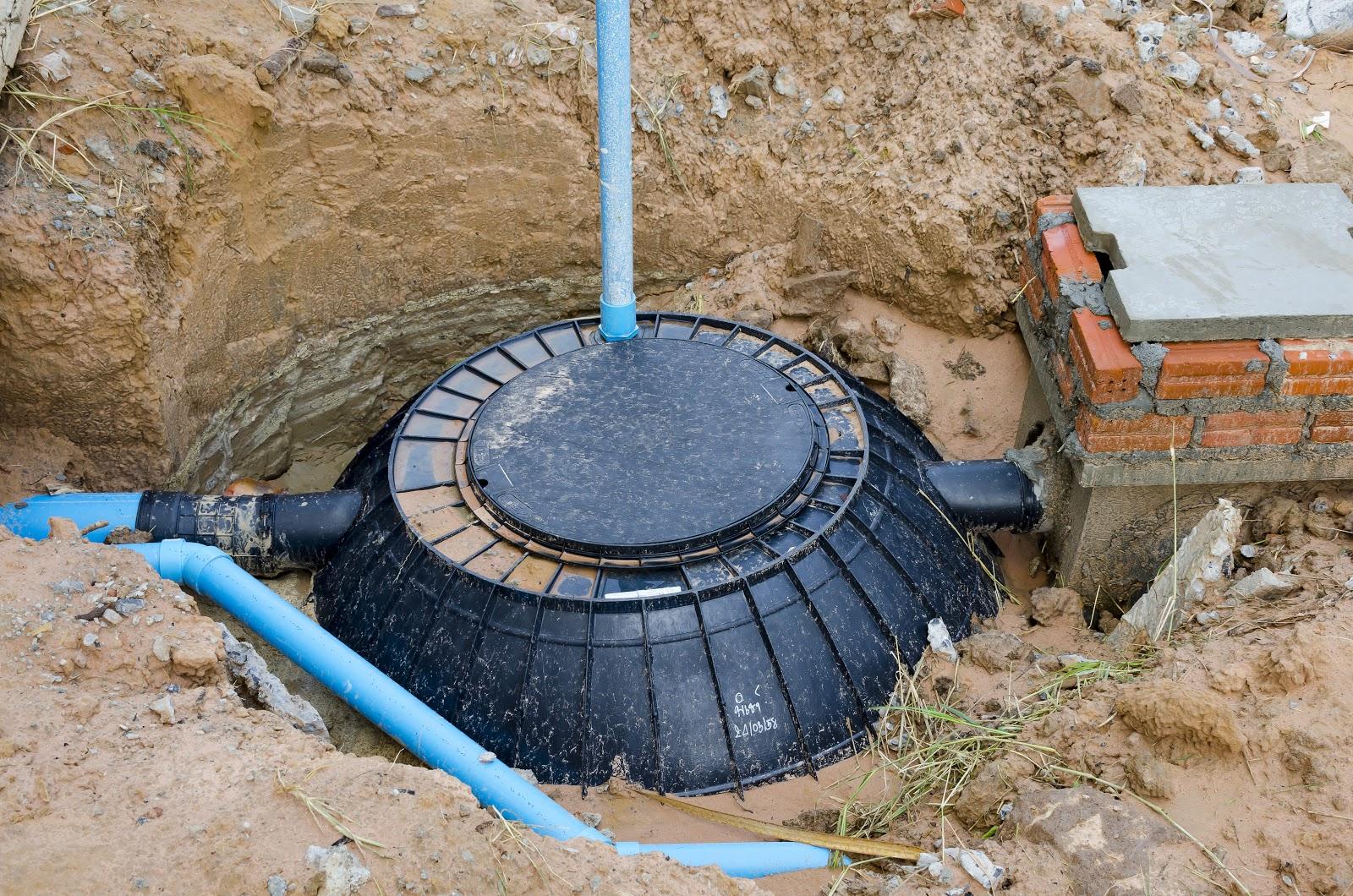 Sistem canalizare fosa septica