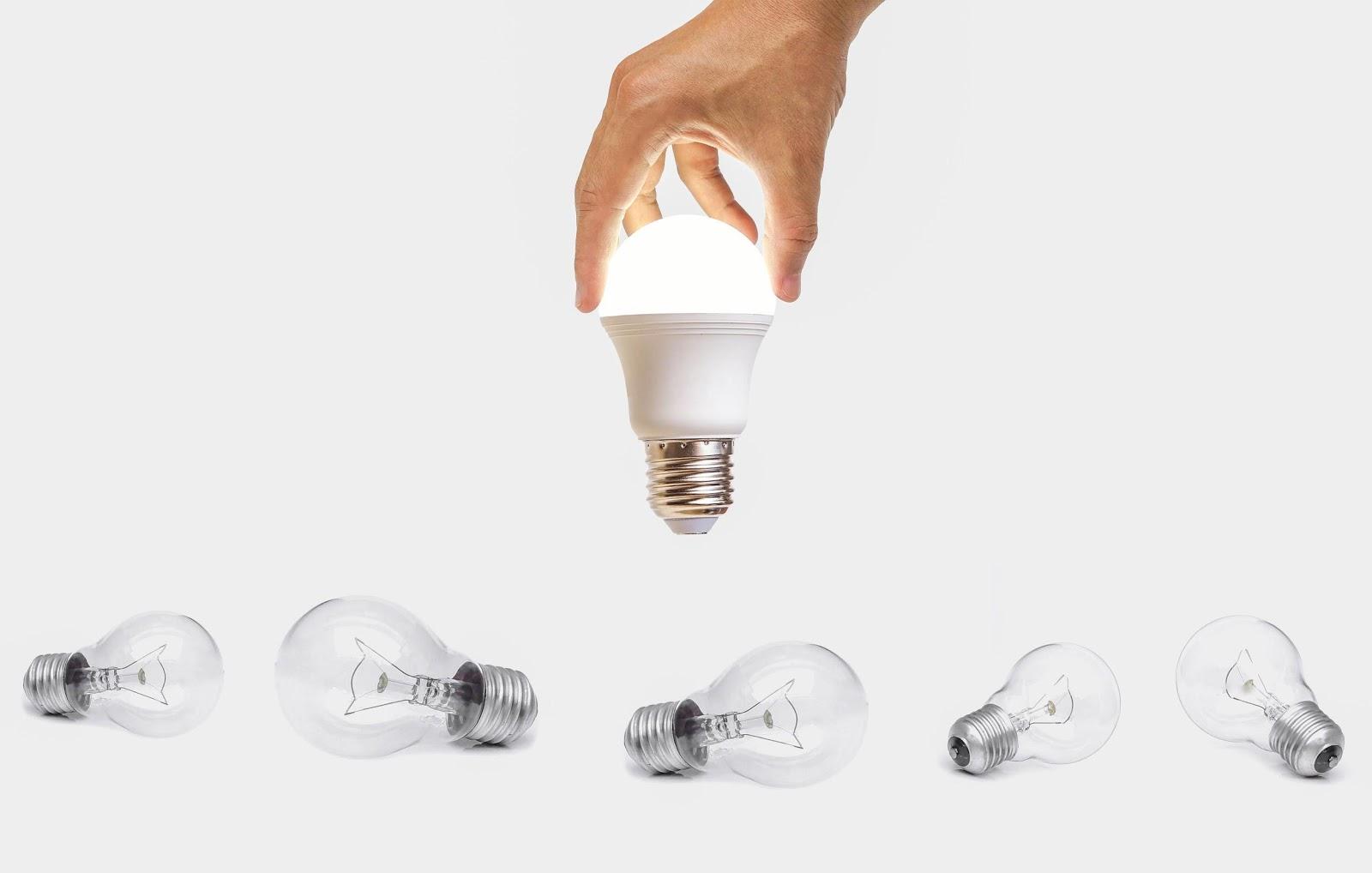 Cum alegi becul LED in functie de luminozitate