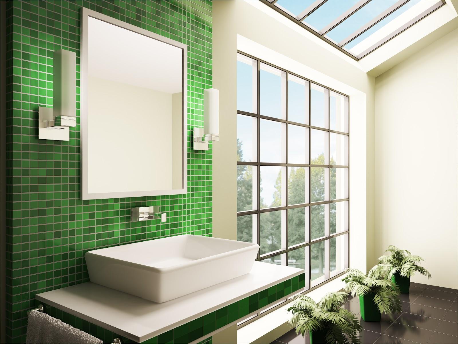 Faianta baie verde