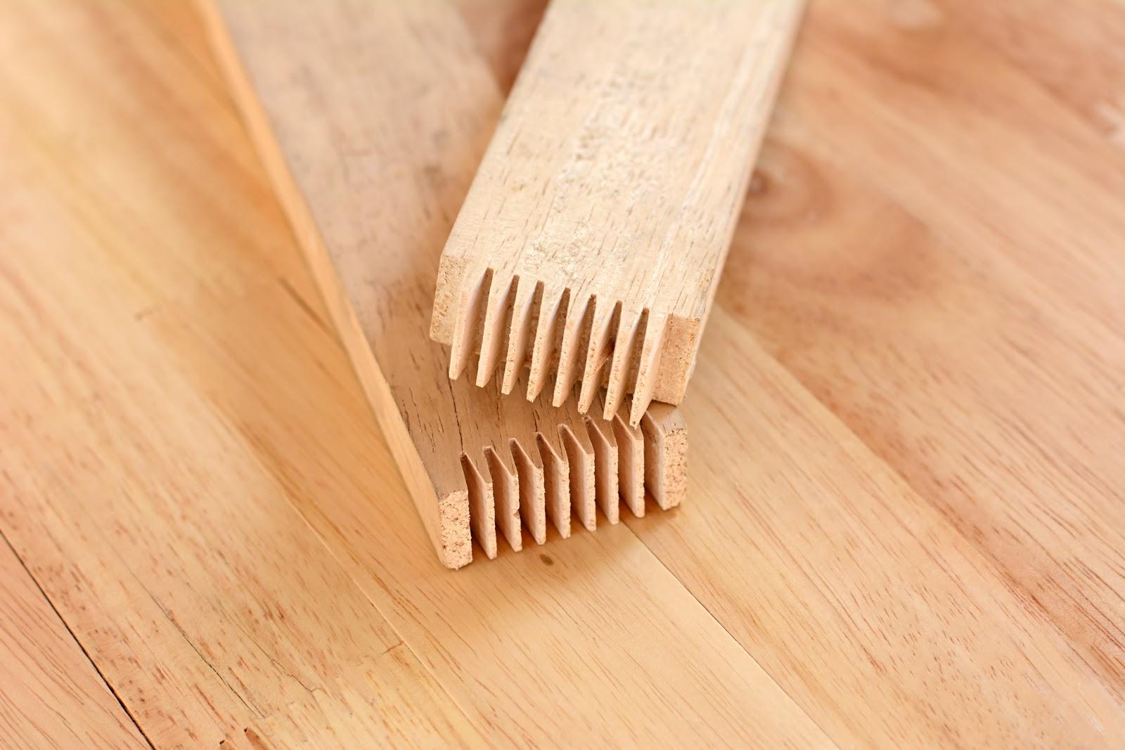 Imbinarea lemnului in dinti