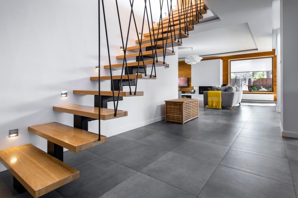 Treptele si contratreptele scarilor interioare